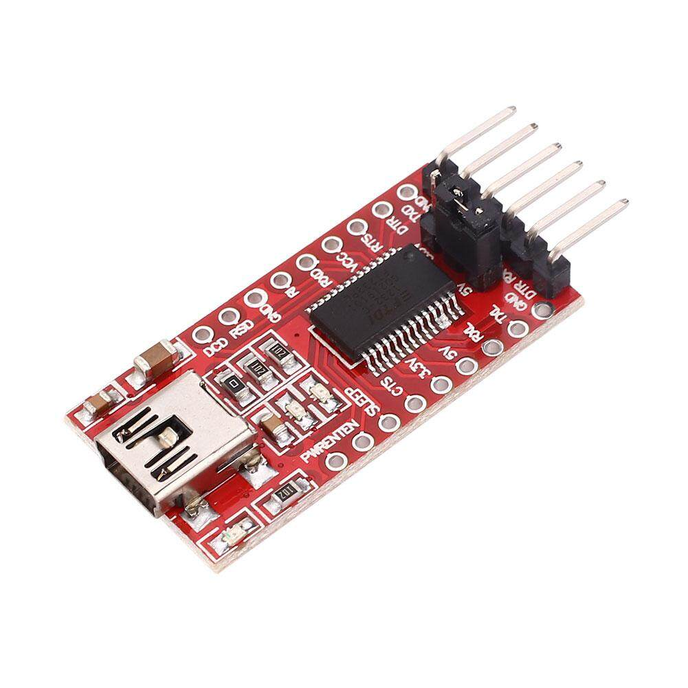 Kurry store free shipping Red FT232RL USB to TTL Serial Adapter Module For Arduino Download Cable - intl
