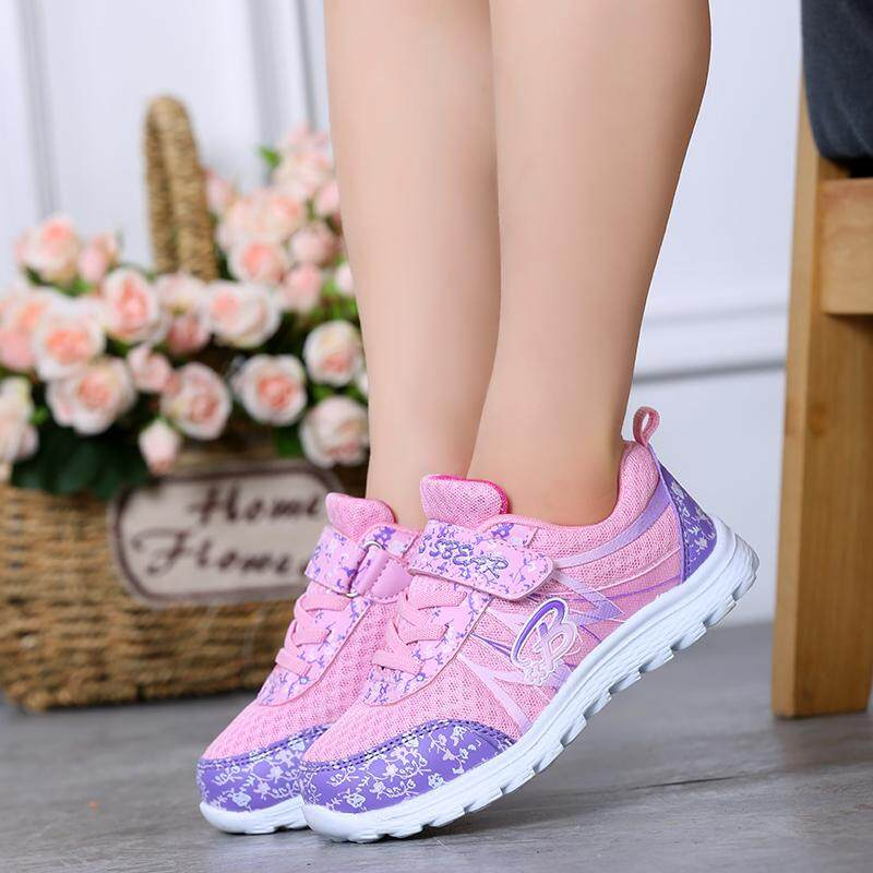 Autumn and Winter Sneakers for Children Girl Outdoor The Princess Shoes  Sneaker Fashion Casual Shoes Korean 8782cba2138f