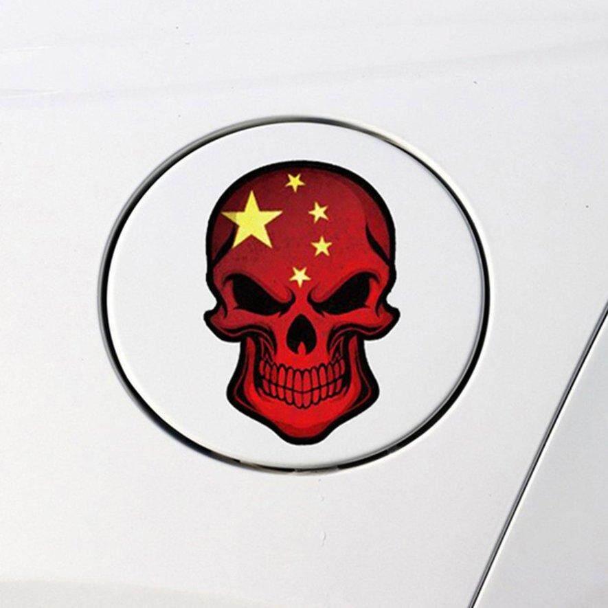 Reflektif Stiker Mobil Tengkorak Styling Stiker Anti Air Dapat Dilepas Dekorasi Intl     Wiring