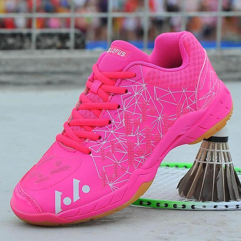 Yealon Sepatu Bulu Tangkis Wanita Sepatu Kets Wanita Wanita Sneakers  Pelatihan Bernapas Anti-Lampu Licin d100facabb