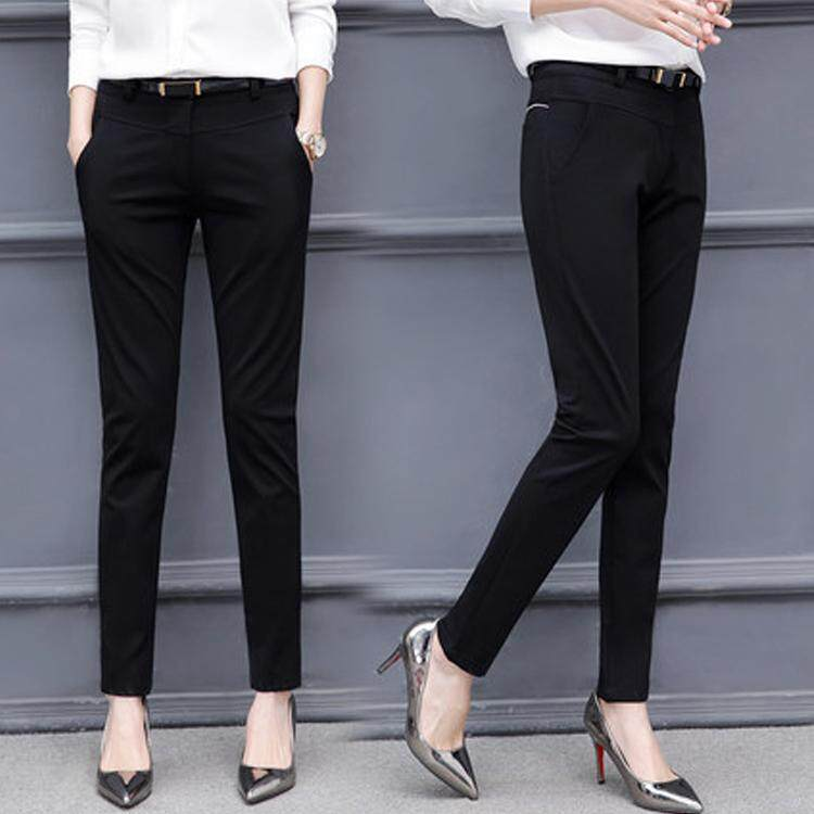 Fashion Tights Women OL Style Work Pants 2018 Spring Pencil Pants 97a45f2eda48