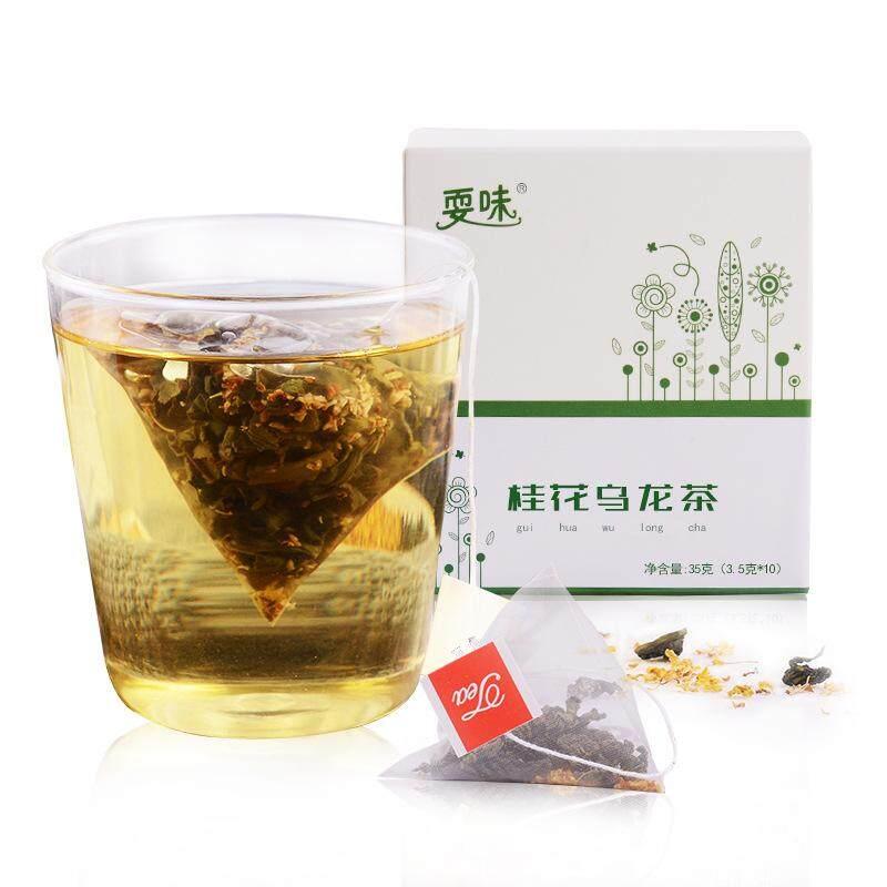 Osmanthus Teh Oolong Bunga Tea Group Triangle Tas Osmanthus Tieguanyin Teh Hijau Tas Cold Gelembung Tea