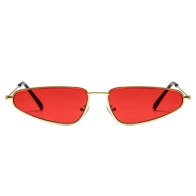 Detail Gambar Fancytoy Wanita Kacamata Hitam Mata Kucing Resin Lensa PC Bingkai UV400 Kacamata Kacamata-