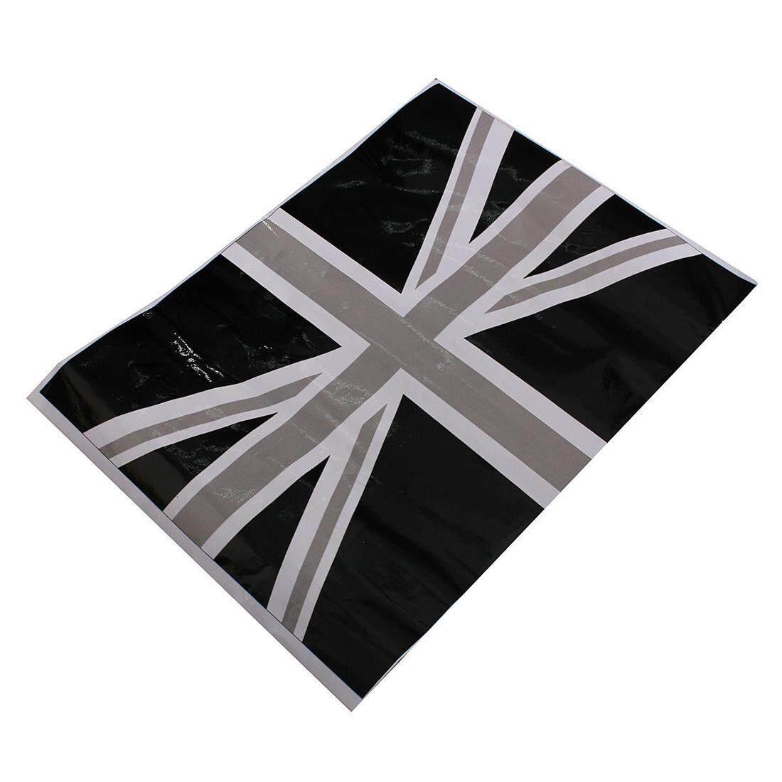 Fitur 2 X Rice Word Flag Side Mirrors Black Decals Vinyl Stickers Frame Photo Gantung Animals Lucu 3 Inch For Bmw Mini Cooper