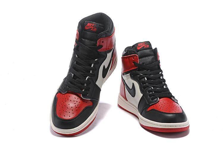 372cc689f41 Nike Original Michael Jordan 1 Green Black Sport MJ AJ Air Jordan Men s  Basketaball Shoe
