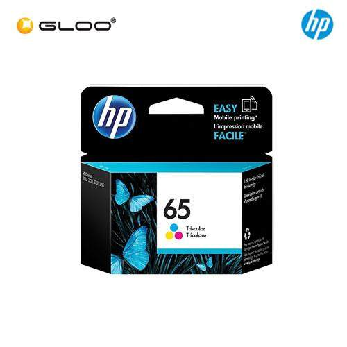 HP 65 Black/Tri-color Original Ink Advantage Cartridge (N9K02AA/N9K01AA)