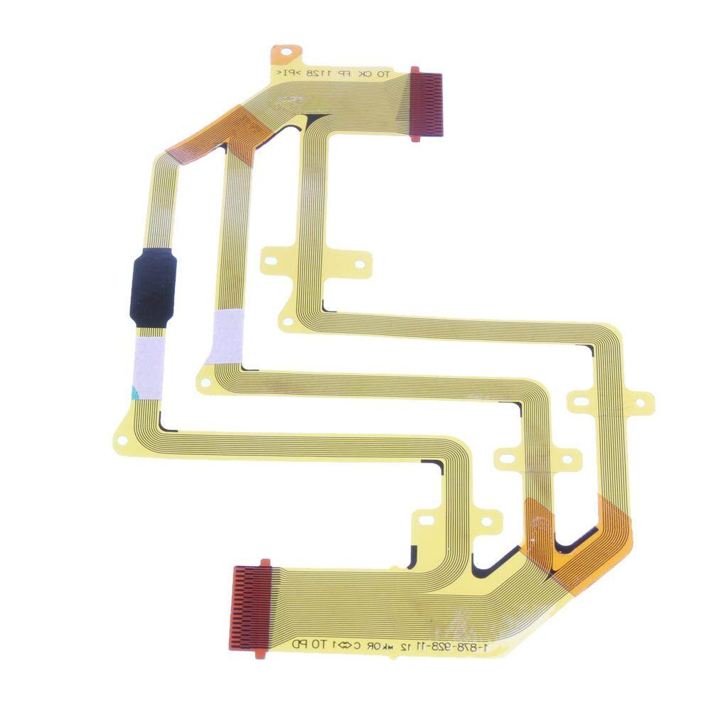 Miracle Shining LCD Flex Cable Ribbon Replacement Part for Sony HDR-CX500E HDR-CX520E Camera