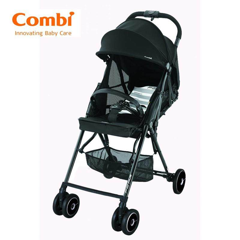Combi Stroller F2 Plus AF Baby Super Lightweight Knight Black 165 Degrees New