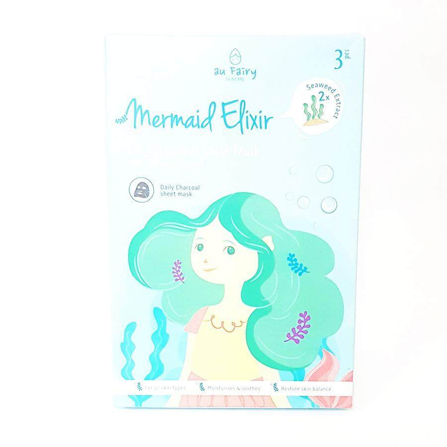 AU FAIRY HYDRATION SHEET MASK WITH SEAWEED EXTRACT 3'S(MERMAID ELIXIR)
