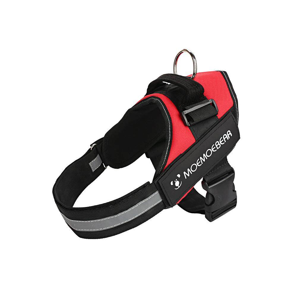 1pcs Reflective Adjustable Dog Harness Comfort Control Heavy Duty Oxford Dog Training Collar With Top Handle,no Pull Harnesses - Intl By Lmsshop.