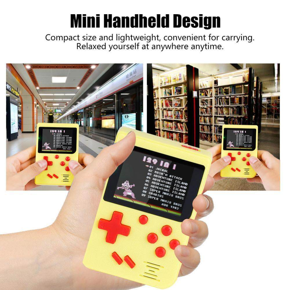 Hình ảnh Portable Retro Mini Handheld Classical Game Console Color Screen Game Player for NES