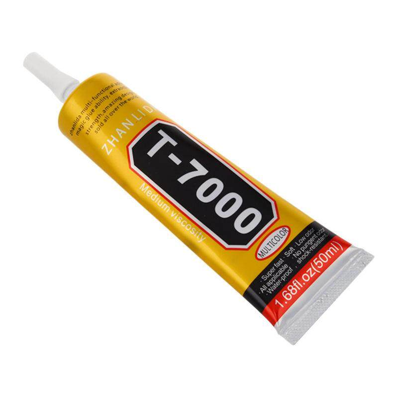 ZHANLIDA T7000 leather jewelry plastic wood industrial glue color: red 50ml - intl