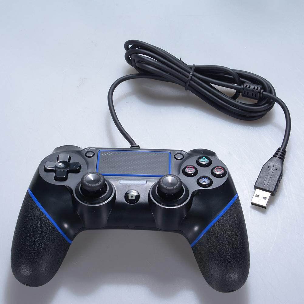 Detail Gambar SA YANYI Wired Gamepad Game Controller Console for Sony PS4 Terbaru