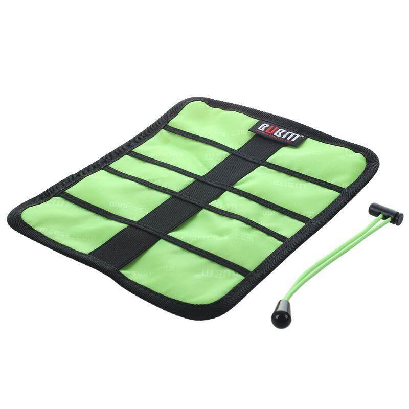 BUBM Roll Universal Pens Winder Stable Carrying Case USB Flash Drive Travel Storage Bag S Orange