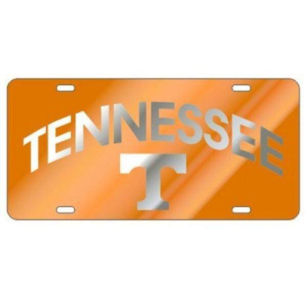 Tennessee Volunteers Orange TN/T Laser Cut License Plate / From USA