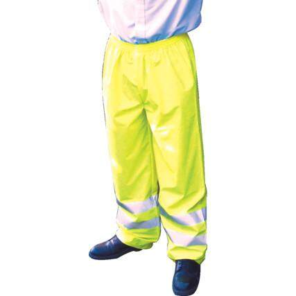 HI-VIS BREATHABLETROUSERS(EN20471) YELLOW - 2XL TFF9624064E