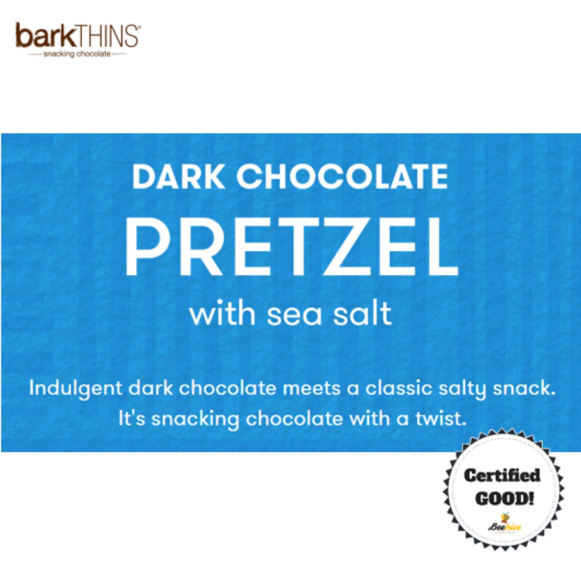 BarkThins Dark Chocolate Pretzel with Sea Salt 133g