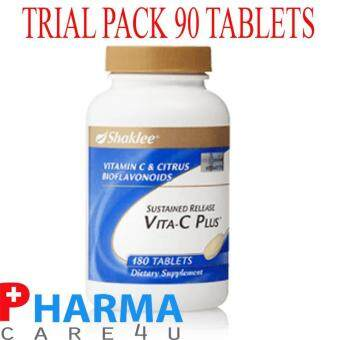 Shaklee Sustained Release Vita-C Plus - 90 Tablets (Trial Pack)
