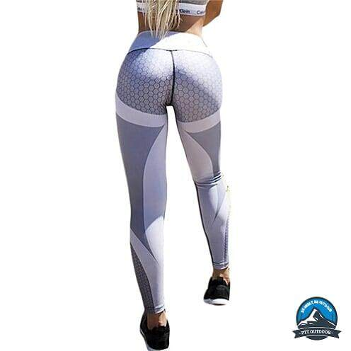 [BEST SELLER] Female Legging for Gym,Sports,Cycling,Hiking Stretchable Breathable - White