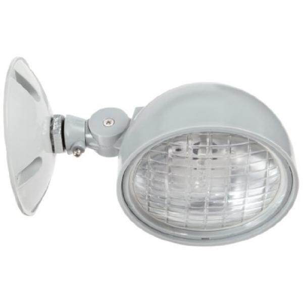 Morris Products 73064 Remote Emergency Light Head, 1 Weatherproof, Incandescent, 7.2 Watts, 6 Volts - intl