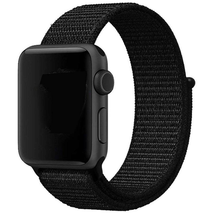 For Apple Watch Band 38MM 42mm Sport Loop, Lightweight Breathable Nylon Replacement Band for Apple