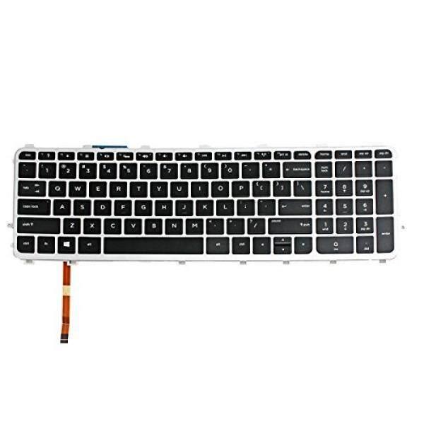 Gintai Kami Keyboard W/Bingkai Backlit untuk HP Envy TouchSmart 17-j178CA 17-j142NR 17-j127CL-Internasional