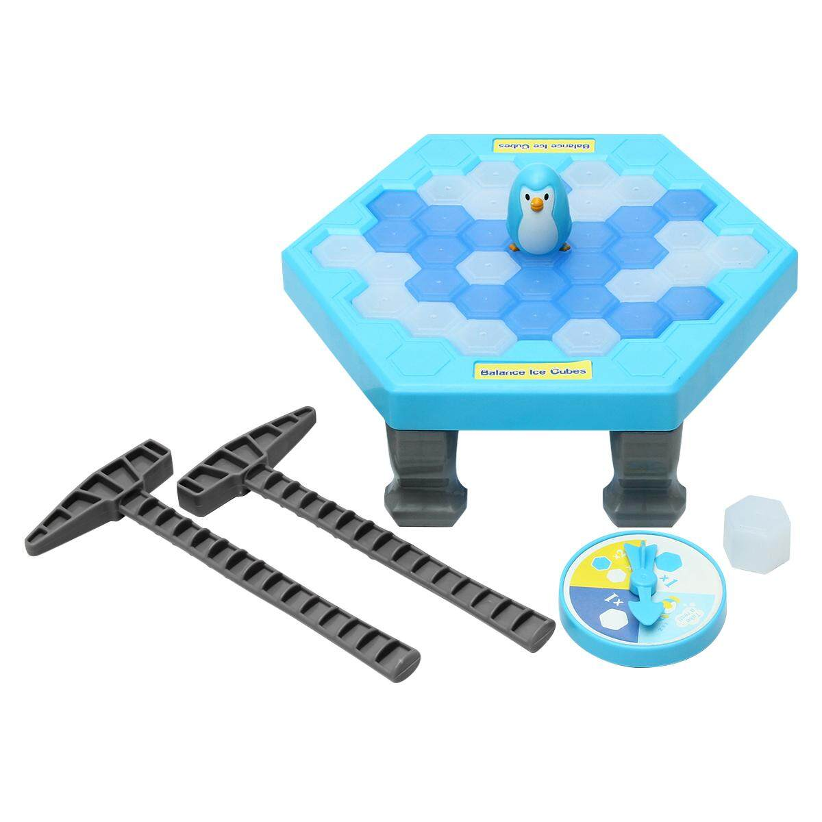Funtok Save Penguin Ice Kids Puzzle Game Break Ice Block Hammer Trap Party Toy Pretend Icebreaker By Channy.