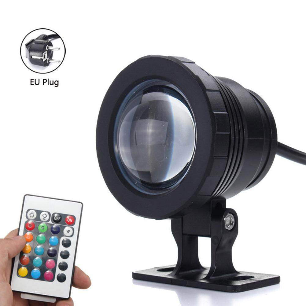 Led Underwater Lights 10w Lamp Ip68 Pond Pool Remote Control Waterproof Uv Fountain Rgb Underwater Spot Light Aquarium Bringing More Convenience To The People In Their Daily Life Led Lamps