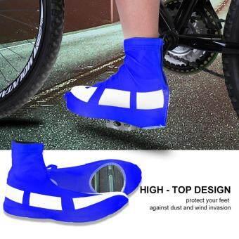 Bandingkan Toko 1 Pair Tahan Angin Anti Debu Sepeda Olahraga Sepatu Penutup  Overshoes Pelindung (L 6b4d703923