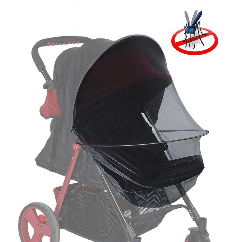 Goodgreat 2-In-1 Mosquito Net For Stroller With Sun Blocker Ultra Fine Mesh Protection Against Mosquitoes Baby Stroller Insect Netting(63*41 Cm) By Good&great.