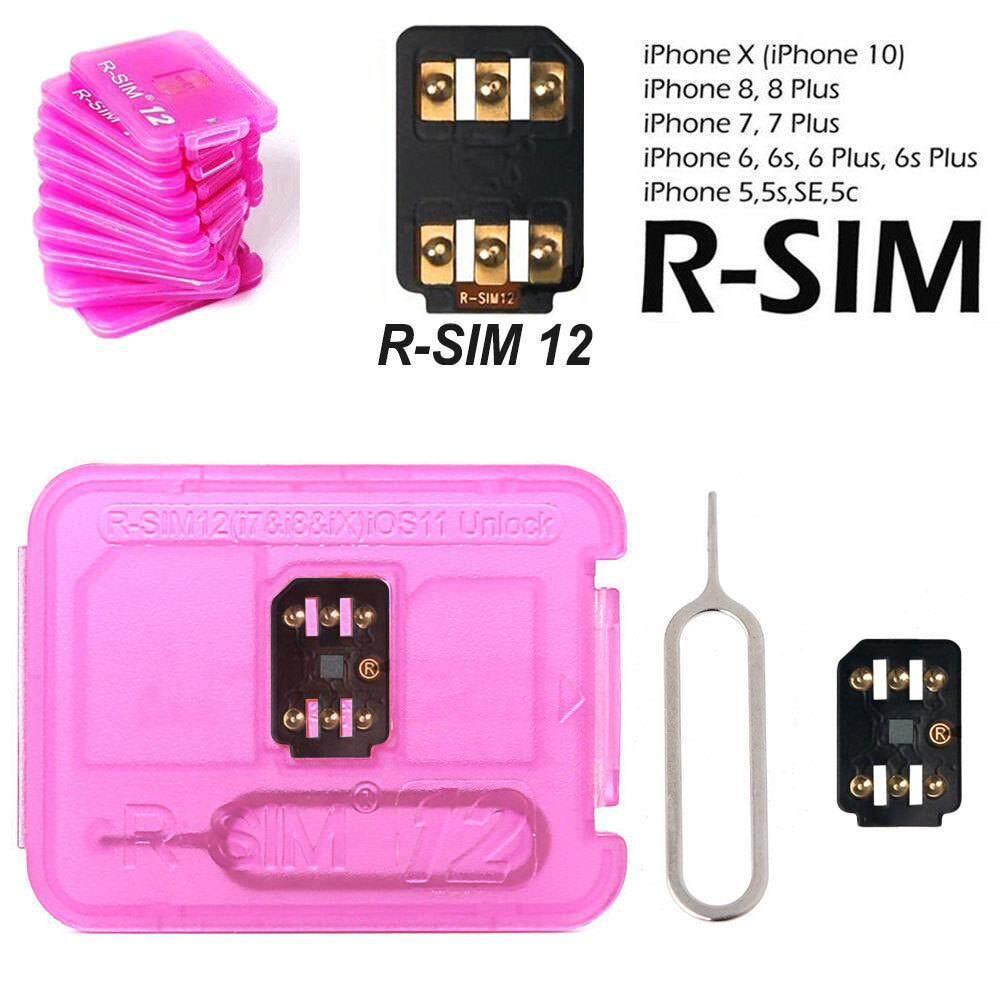 M_home 2018 Rsim 12 + Membuka Kartu SIM Nano untuk iPhone X 8 7 6 S 6 Plus 5 S SE 4G IOS 11.4