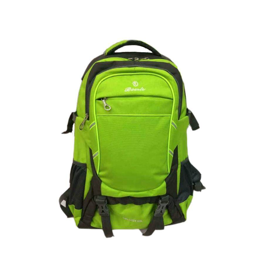 (Green Colour)Hiking Camping Backpack Outdoor Adventure Travel Organizer Bag