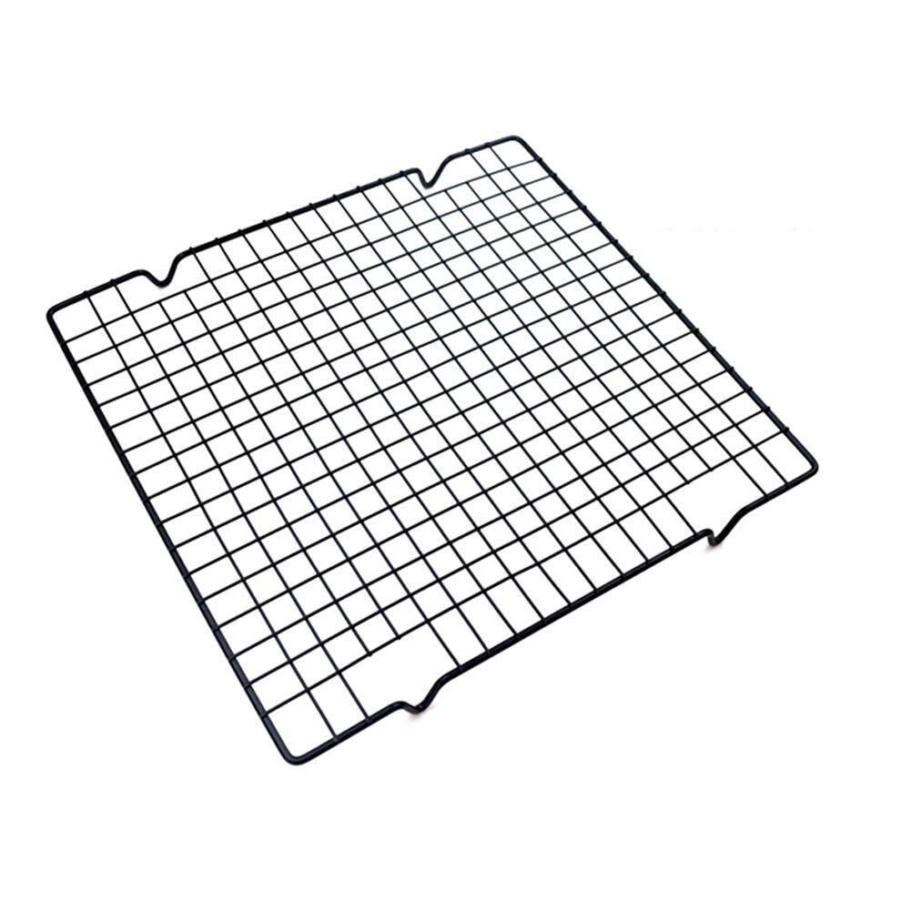 เบเกอรี่เค้กถาดกันติดสแตนเลสตะแกรงพักขนมขนมปังตารางคุกกี้บิสกิต By Elecyfor456.