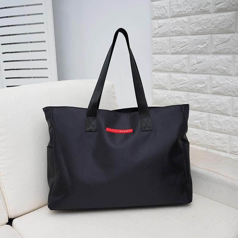Handheld Traveling Bag Female One-Shoulder Bag Male Large Capacity Luggage Bag Light Travel Bag Waterproof Sports Gym Bag