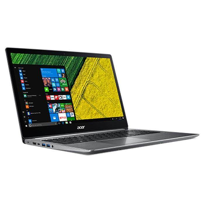 "Acer Swift 3 SF315-41G-R6Z9 15.6"" FHD IPS Laptop Gray ( Ryzen 5 2500U, 8GB, 256GB Pcie, RX540 2GB, W10H)"