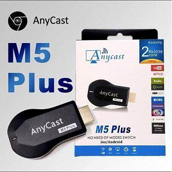 Anycast M5 PLUS DLNA Airplay WiFi Display 1.2GHZ128MB TV Dongle Stick