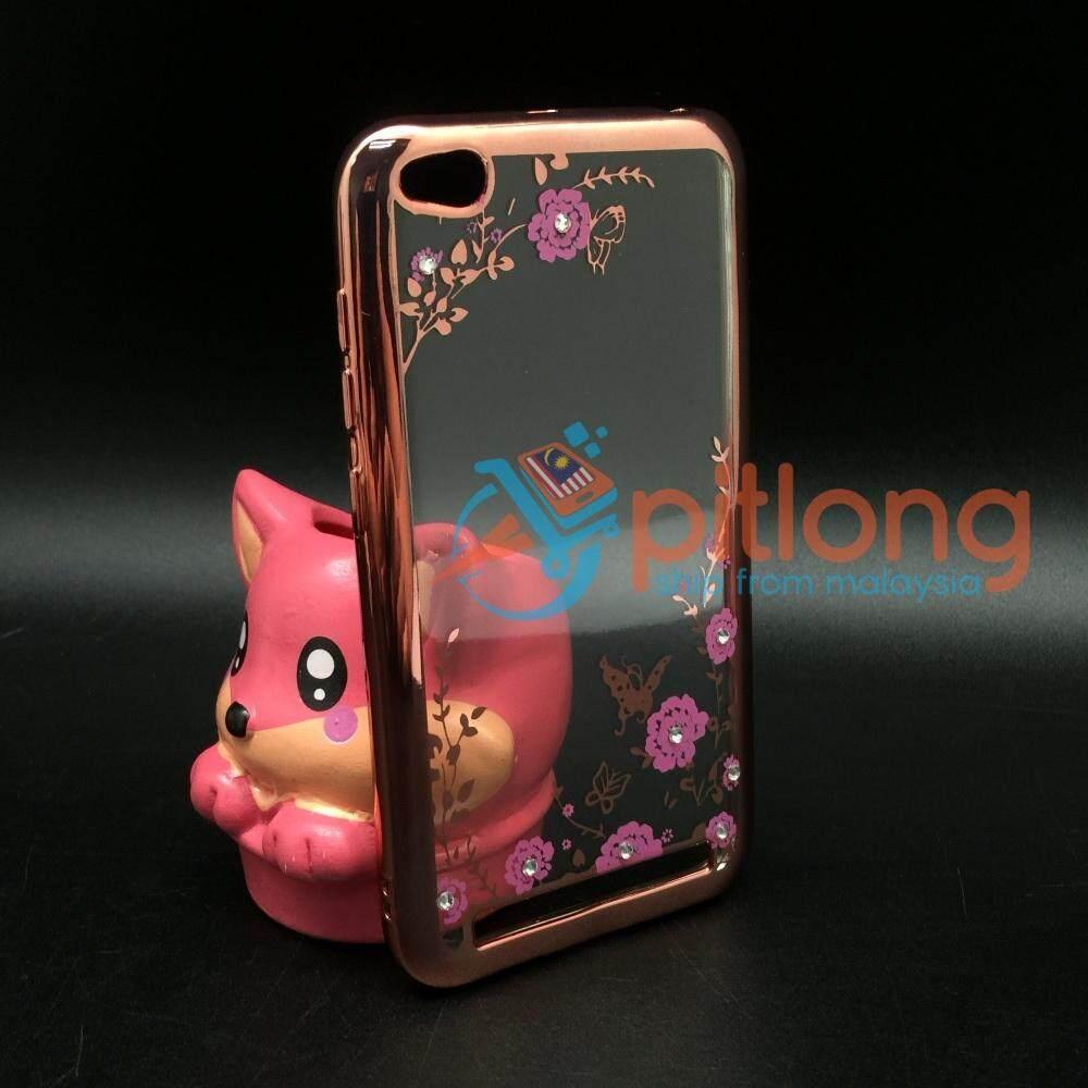 Fitur Flower Case Xiaomi Redmi Note 1 1w 3g 4g Casing Bunga Softcase Tpu 2 Silicone Diamond Soft 5a Secret Garden Transparent