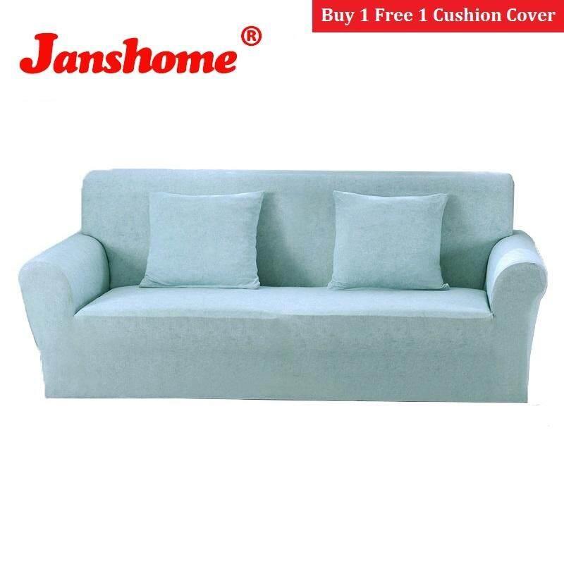 Janshome 3 Kursi Penutup Kursi Elastis Spandex Sofa Cetak Sofa Slipcovers Kursi Pelindung Perabotan dengan Gratis