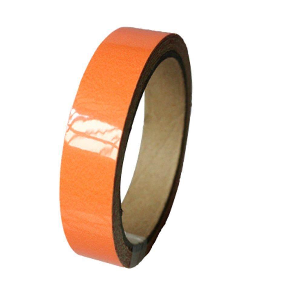 [โปรโมชั่น] สีส้มเรืองแสงสติกเกอร์ความปลอดภัยเทปส่องสว่างเรืองแสง Self - กาวสติกเกอร์ By Kakagardener.