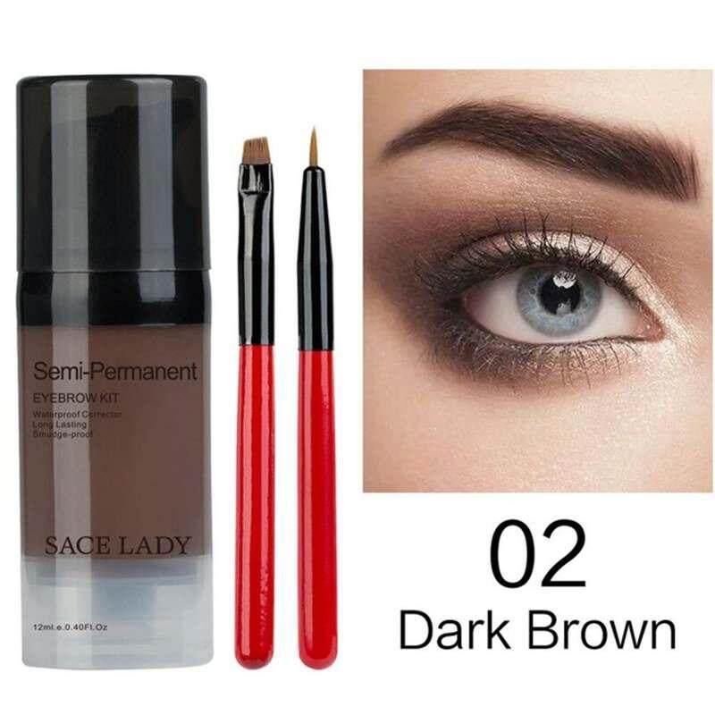 DXY SACE LADY Henna Shadow For Eyebrow Gel Waterproof Makeup Tint Natural Eye Brow Enhancer Brand