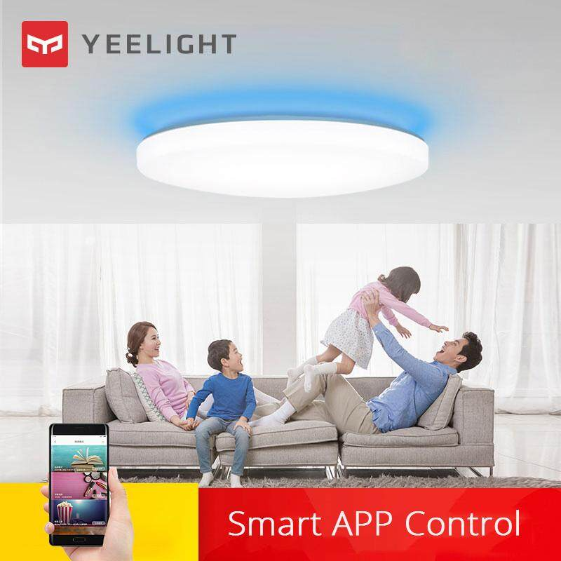 Yeelight Intelligent LED Ceiling Lamp Dust Resistance Wireless Dimming Support Google Home 320 28W AC 220V