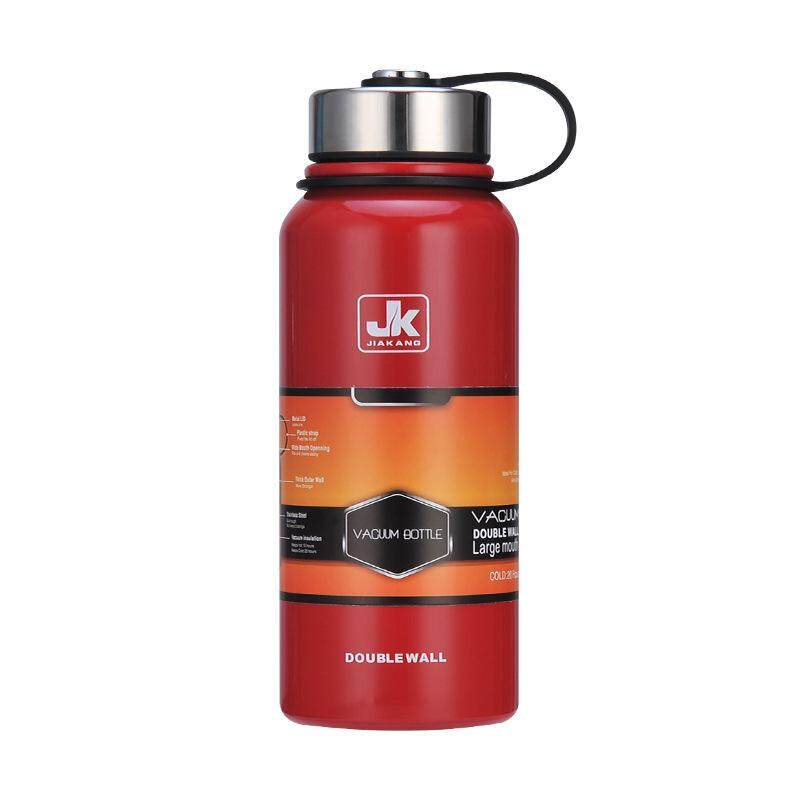 New Space Thermal Insulation Pot 304 Stainless Steel Insulated Cup Outdoor Sports Cup Large Capacity Water Cupnred 1100ml By Moonbeam.