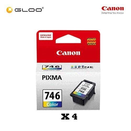 [Set of 4] Canon CL-746 Ink Cartridge - TriColor