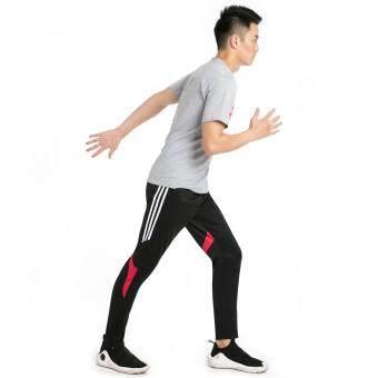 Harga preferensial Celana Olahraga Sepak Bola Pria Bagian Tipis Luar  Ruangan Nyaman Cepat Celana Pengering Pusat Kebugaran Olahraga Lari  Pelatihan Celana ... e2addc14bc
