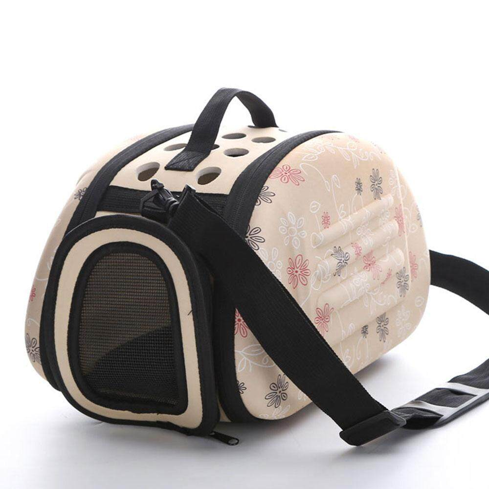Efuture Foldable Eva Pet Carrier Airline Approved Outdoor Under Seat Travel Puppy Bag For Pets Small Medium Size Cats & Dogs By Efuture.