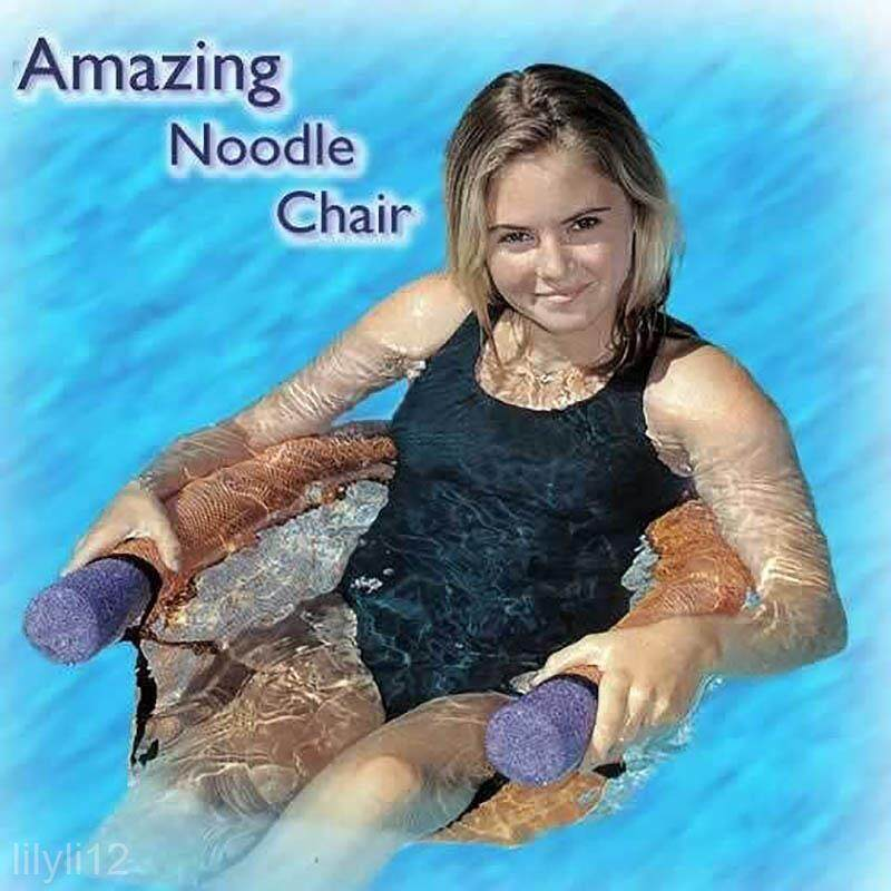 Hot Swimming Pool Noodle Chair Water Swing Floating Seat For Adult Kid Children By Lgpenny
