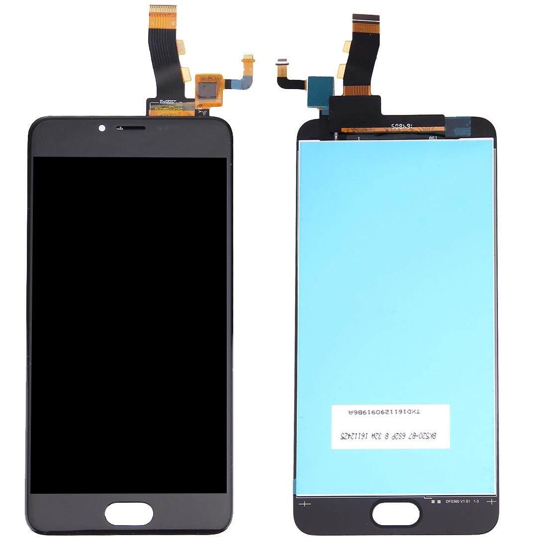 Meizu M5/Meilan 5 Layar LCD dan Digitizer Penuh Perakitan (Hitam)