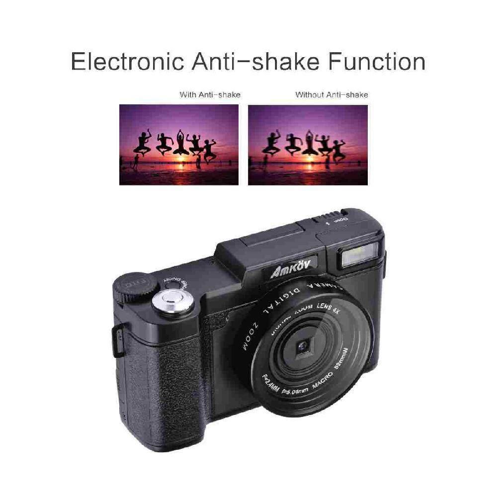 Ytri Kamera 24MP Camcorder Full HD 1080 P Kamera Flip Layar 180 Derajat Rotasi-Intl
