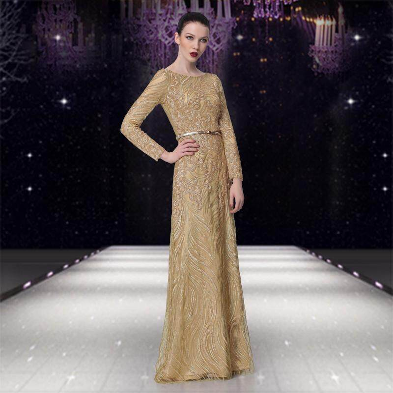 Late Formal dress for women 2018 New Style Banquet Annual General Meeting  Party dress for women cf648636d350