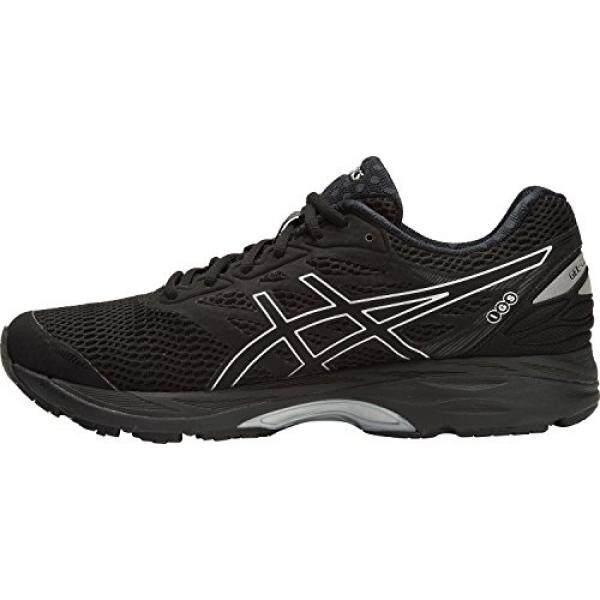 Asics Mens Gel-Cumulus 18 Running Shoe, Black/Silver/Black, 10.5 D(M) US - intl